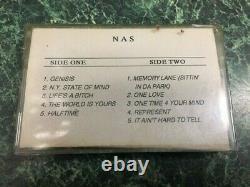 1994 NAS illmatic cassette us OG promo