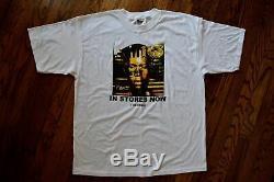 1999 NAS I am vtg 90s rap hip hop promo illmatic aaliyah T-shirt dj premier XL