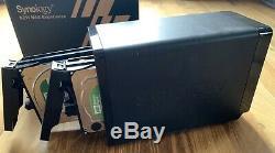 6TB Synology DS710+ NAS-System 2x3TB WD Green NAS Festplatten (1,66GHz, 2GB RAM)