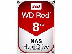 8TB WD Red WD80EFZX NASware3.0 3.5 SATA III Internal NAS Hard Drive 128mb cache