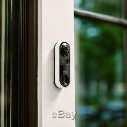 Arlo AVD1001-100NAS Video Doorbell HD Video Quality, Weather-Resistant, 2-Way Au