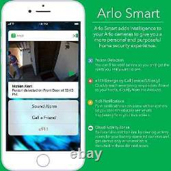 Arlo Go Mobile HD Security Camera AT&T Wireless 4G LTE Night Vis VML-4030-100NAS