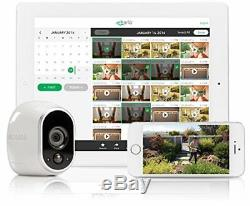 Arlo Netgear Security Cameras 3-Pack HD VMS3330-100NAS Wire-Free Night Vision