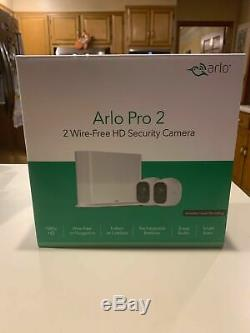 Arlo Pro 2 Rechargeable Indoor/Outdoor 1080p HD Security Camera FACTORY SEALED