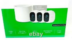 Arlo Pro 2 Wireless Home Security Camera System 3-pack 1080p Camera VSC3000C