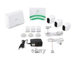 Arlo Pro 2 Wireless Security Camera System 3 Rechargeable Battery Powered Wire
