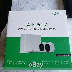 Arlo Pro 2 by NETGEAR Home Security Camera System 2 pack Wireless 1080p HD