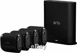 Arlo Pro 3 4-Camera Wire-Free 2K HDR Security System Black LOOK HERE