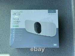 Arlo Pro 3 Floodlight Indoor/Outdoor Security Camera White NEW SEALED BOX