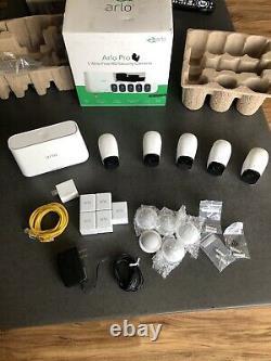 Arlo Pro 5 Cameras Camera Indoor/Outdoor HD Wire Security System White
