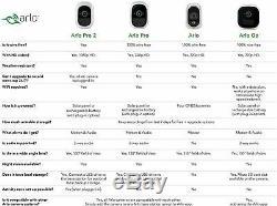 Arlo Pro Indoor/Outdoor HD Security Camera System 3 Camera Free Cloud Recording