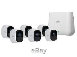 Arlo Pro Indoor/Outdoor WiFi Security 6 Camera System VMS4630-100NAS