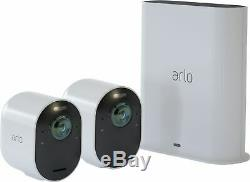 Arlo Ultra 2-Camera Indoor/Outdoor Wire Free 4K HDR Security Camera System