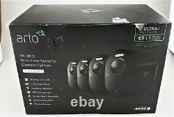 Arlo Ultra 4K UHD 4 Camera Indoor/Outdoor Wire Free Security System Good Shape