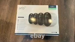 Arlo Ultra 4K UHD (5-Camera Bundle + Bonus Accessories) Pre-Owned, Works Perfect