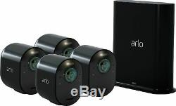 Arlo Ultra 4-Camera Indoor/Outdoor Wire-Free 4K HDR Security Camera System