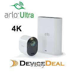Arlo Ultra 4k Uhd Wire-free Security Camera System One Camera & Smart Hub