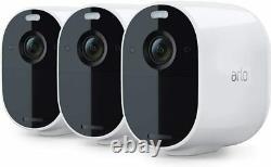 Arlo VMC2330-100NAR Essential Spotlight Camera 3 Pack Certified Refurbished