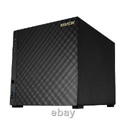 Asustor 4-Bay NAS Intel 1.6GHz Quad-Core 2GB RAM Personal Cloud NAS AS3204T v2