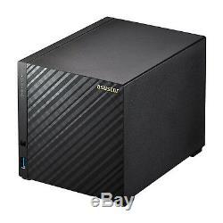 Asustor AS3104T 4-Bay NAS Intel Celeron Dual-Core 2GB DDR3L WoL Sleep Mode