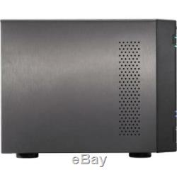 Asustor AS6404T Nas 40tb 4x10tb Sata3 Perp Tower Raid 0/1/5/6/10 Gbe 4bay
