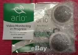 Brand New Arlo Pro 2 NETGEAR Home Security Camera System 2 pack Wireless 1080p