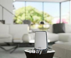 Brand New NETGEAR Orbi AX6000 Tri-Band Mesh Wi-Fi System (3-Pack) White