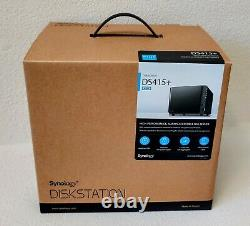 Brand new in box Synology DS415+ 4-bay NAS storage