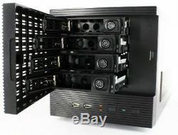 CFI A-7879 V2 Mini-ITX Gehäuse 4x 3.5 NAS, 1x 2.5, Hot-Plug, 1x PCI, USB3.0