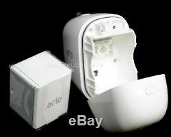 COMPLETE 2 NEW ARLO PRO Netgear HD Wireless Security Cameras Base Charger EXTRA