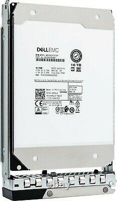 Dell 16TB SATA 6Gb/s 7.2K RPM 3.5 Enterprise HDD with 14G Caddy Tray (400-BHFM)
