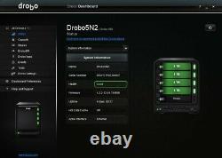 Drobo 5N2 Network Attached Storage (DRDS5A21) w 16TB (4 x 4TB) Storage