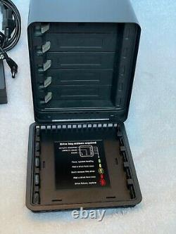 Drobo 5N Network Attached Storage NAS DRDS4-A 128GB mSATA SSD with 5 Drives