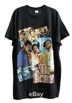 Fugees 1996 XXL The Score Shirt Vtg Rap Tee Dr Dre Lauryn Hill 2Pac Sade Nas