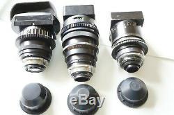 LOMO ANAMORPHIC NAS/BAS lens set