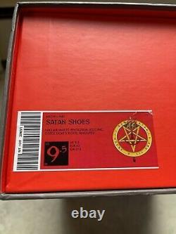 Lil Nas X 664/666 MSCHF Satan Shoes Size 9.5 BRAND NEW READY TO SHIP
