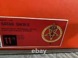 MSCHF x Lil Nas X Max Air 97 Satan Shoes Size 11.5 LE #23/666