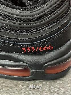 MSCHF x Lil Nas X Satan Shoes Size 12 In Hand No. 333/666