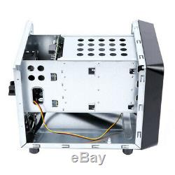 Mini-ITX Hot Swap 4 Bays NAS Cloud Storage IPFS Server K8M4