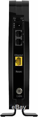 NETGEAR 16 x 4 DOCSIS 3.0 Cable Modem Black