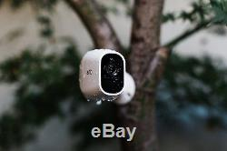 NETGEAR Arlo Pro 2 3-Camera Wireless Security System White (VMS4330P-100NAS)