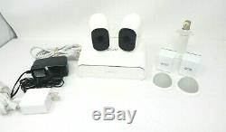 NETGEAR Arlo Pro 720p Security Camera System 2- wireless Cameras Bundle