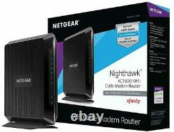 NETGEAR C7000-100NAR AC1900 WiFi Cable Modem Router Combo -Certified Refurbished