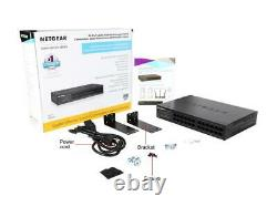 NETGEAR GS324 24-Port Gigabit Ethernet Desktop / Rackmount Switch