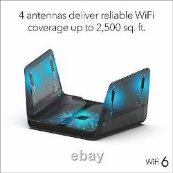 NETGEAR Nighthawk 8-Stream AX8 Wifi 6 Router (RAX80) AX6000