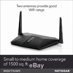 NETGEAR Nighthawk AX4 4-Stream WiFi 6 Router (RAX40) AX3000 Wireless Speed