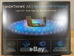 NETGEAR Nighthawk AX8 8-Stream Wi-Fi 6 Router (RAX80-100NAS)