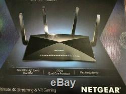 NETGEAR Nighthawk X10 AD7200 Smart WiFi Router (R9000-100NAS)