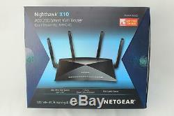 NETGEAR Nighthawk X10 Smart WiFi Router (R9000) Wireless Speed (up to 7200 Mbps)