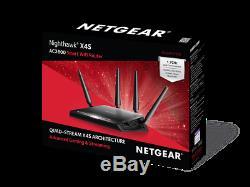 NETGEAR Nighthawk X4S AC2600 4x4 Gigabit Gaming Router R7800